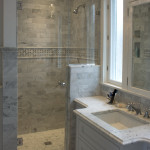 Renovated Bathroom with Tile hower