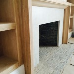Fireplace being Restored